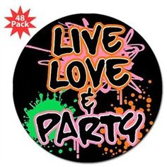 #Artsmith Inc             #Everything ElseCollectibles                        #Lapel #Sticker #Pack) #Live #Love #Party #(80s #Decor)                       3 Lapel Sticker (48 Pack) Live Love and Party (80s Decor)                                               http://www.seapai.com/product.aspx?PID=7300965