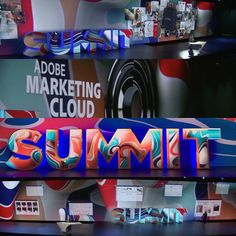@adobe summit 2016 ended yesterday but here are a few pictures of my artwork in use.  Output file/artwork: 25460x36000 pixels @ 300dpi  #digitalart #adobesummit2016 #adobesummit #illustration #c4d #cinema4d #maxon #graphicartist #adobelife #illustrator #designlife #createcoolshit by dnyivn