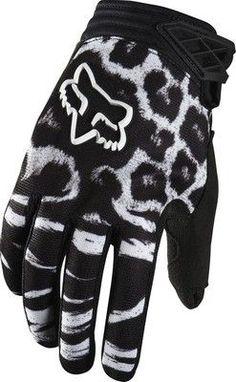 Fox Racing 2014 Womens Dirtpaw  Motocross Dirt Bike Gloves Size Medium Black