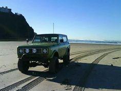 Beachcombing Scout II Dodge Ram Diesel, Chevy Diesel Trucks, Chevrolet Trucks, Chevrolet Impala, 1957 Chevrolet, Muddy Trucks, 4x4 Trucks, Cool Trucks, Lifted Trucks