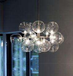 Cluster pendant 16 by HARCO LOOR | General lighting