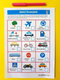 Bingo, Transportation, Classroom, Printables, Rome, Class Room, Print Templates, Squad