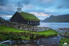 Church Of Funningur, Faroe Islands