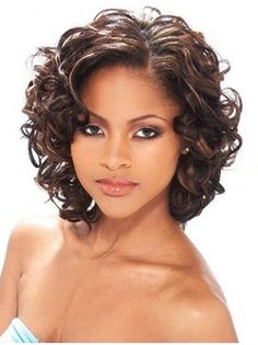 Curly Hair Styles, Curly Hair Cuts, Short Hair Cuts, Medium Hair Styles, Natural Hair Styles, Hair Medium, Curly Wigs, Short Wavy, Long Curly