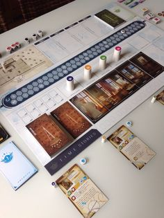 """T.I.M.E Stories is a narrative game, a game of """"decksploration"""". Each player is free to give their character as deep a """"role"""" as they want, in order to live through a story, as much in the game as around the table. But it's also a board game with rules which allow for reflection and optimization."""