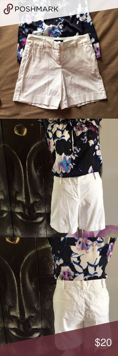 "TALBOTS NWOT White Cotton Shorts Beautiful NWOT white cotton shorts. Perfect for any outing! Pair with pastels or your favorite blouse!   15"" in length and hips. Talbots Shorts"