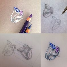 Jewelry Design on Behance: Jewelry Drawing