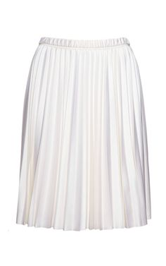 Silk-Jersey Sunburst Pleated Skirt by Marc Jacobs Now Available on Moda Operandi