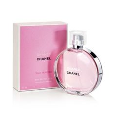 Adore the CHANEL, CHANCE EAU TENDRE. I love that it's incredibly light yet seductive and innocent all at the same time.