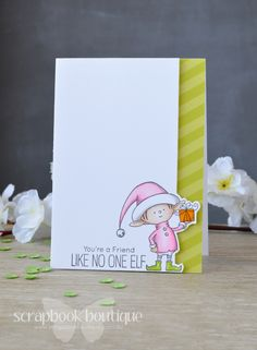 Video : 2016 Same but Different Christmas Card Series – No 2 – Using One Stamp Set for Six Cards! |