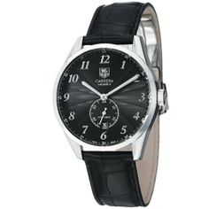 Tag Heuer Carrera Calibre 6 Heritage Mens Black Leather Strap Automatic Watch WAS2110.FC6180 TAG Heuer. $2244.99. Save 23%!