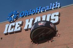 The Ice Haus at Nationwide Arena, home of the #NHL #Columbus Blue Jackets