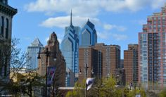 Skyline from South Broad Street