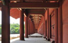 Corridor of the Jeongjeon the longest traditional building in Korea Jongmyo Shrine Seoul South Korea [OS] [940600] - see http://www.classybro.com/ for more!