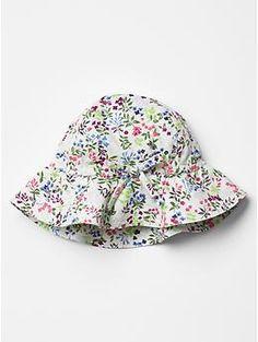 Floral floppy hat $16.95