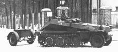 light armored cars Sd.Kfz.252 ammunition