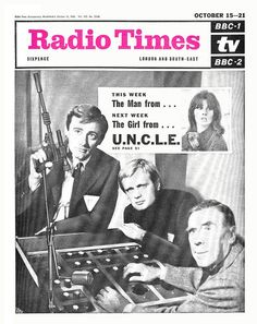 Radio Times Cover 1966-10-15 The Man from UNCLE,