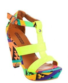 17 perfectly printed heels #heels #solemates #prints #fashion #style