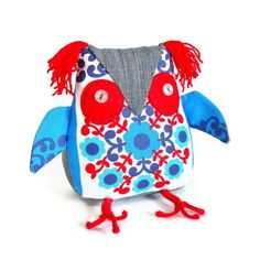 A cute Owl  a  Retro Owl  equals THIS Owl in 60s by WittyDawnUK