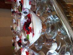 Yogurt parfait With red berries