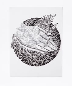 Drawing: Paper, Pencil and India Ink. Size without frame:26 CM X 19.5 CM. 2014 http://www.zocko.com/z/JJtvL
