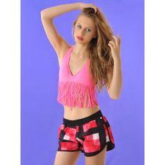 Pantalones Cortos Estampados de Colores PA159