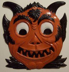 Vintage German Halloween Diecut Devil