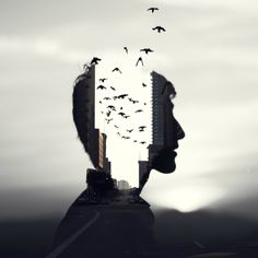 "darkbeautymag:  ""Mind the Birds"" — Photographer:Christopher J. Photographyxxcjrxx"