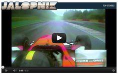 Watch A Race Car Driver Dodge A Crash At 150 MPH!