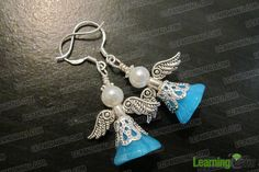 Easy to Make Jewelry- DIY Your Guardian Angel Earrings - Pandahall.com