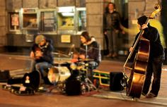 Ode To Bass Player in Dublin by Randy Dorman