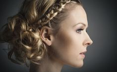 Loose Braided Updos For Wedding | Braided hairstyle - Side braid, loose bun - Braided hairstyles