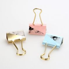 Accento in marmo Binder Clips for Office, oro Binder Clips, pastello clip, clip per Planner Journal, materiale scolastico carina, clip di Bulldog di CaribouMilk su Etsy https://www.etsy.com/it/listing/516544373/accento-in-marmo-binder-clips-for-office