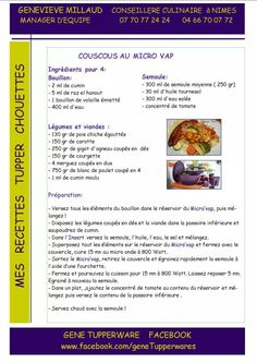1000 images about recettes tupperware on pinterest tupperware chorizo and cuisine - Micro minute tupperware recette ...