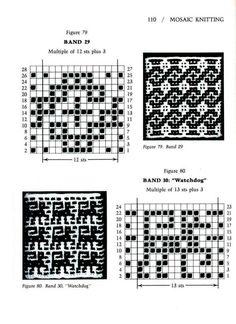 Mosaic Knitting Barbara G. Walker - Google-Suche