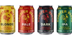 Rooster Beers Isn't Just A Beautifully Designed Brew, It's A Celebration Of Vietnamese Culture | Dieline Alice In Chains Songs, Street Image, Beer Brands, Tap Room, Modern City, Creativity And Innovation, Stunts, Packaging Design, Beer Packaging