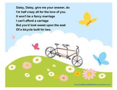 daisy bell bicycle built for two