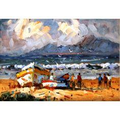 Sea scape, 350x250 Alice, Sea, Gallery, Artwork, Painting, Work Of Art, Auguste Rodin Artwork, Painting Art, Ocean