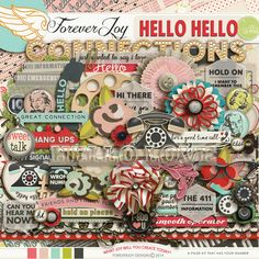 HELLO HELLO Page Kit by ForeverJoy Designs