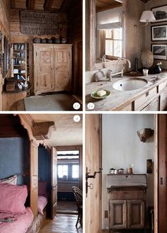 all the built ins swiss chalet interior design - Google Search