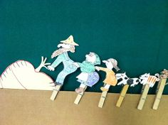 The Big Enormous Turnip (Printable Puppets) | Austin Public Library