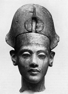 ♔ Ancient Egyptian bust
