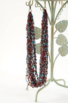 Outstanding Crochet: Crochet necklace.