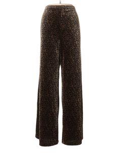 fdf1e93f78f1d Coldwater Creek Velour Pants: Size 12.00 Brown Women's Activewear - $11.99  Coldwater Creek, Cintura