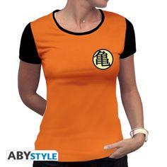 DRAGON BALL T-shirt Kame Symbol Femme