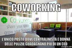 Coworking e opportunità di business nell'era 2.0 #smm