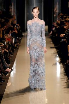 Elie Saab 2013 Couture Collection Wedding Dress #weddingdress #weddinggown #eliesaab #coutureweddingdresses        #gettingmarried #goingtothechapel #wedding #jevel #jevelwedding #jevelweddingplanning www.jevelweddingplanning.com Follow us: Facebook.com/jevelweddingplanning/ Twitter: @jevelwedding
