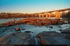 Belle Isle (Richmond, VA)... spent many a summer here in my younger days :o)