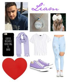 """Liam"" by batmans-secret-child ❤ liked on Polyvore featuring Payne, Converse, Topshop, Hermès and Cara"