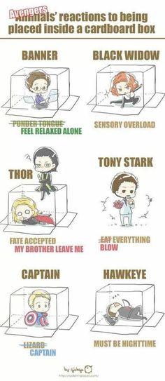 Ríe con los personajes de Marvel cómics.